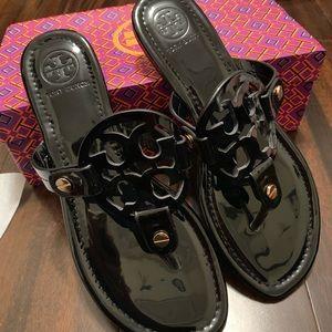 Tory Burch Miller Sandal NWT IN BOX